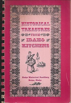 *boise Id 1968 Historical Treasures From Idaho Kitchens Cook Book *local Ads