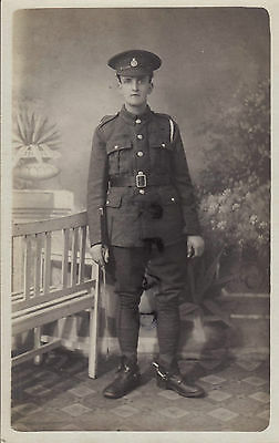 WW1 soldier Pte AVC Army Veterinary Corps  Stirling photographer