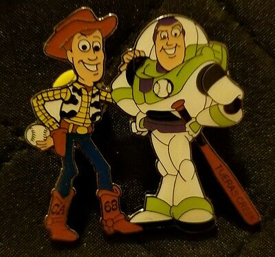 Little League Pin: Disney Toy Story Buzz And Woody Pin ( Ca68 )