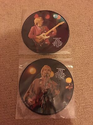 """The Police - Sting Interview 7"""" Picture Disc X2"""