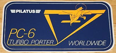 Pilatus PC-6 Turbo Porter Sticker