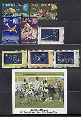 Pitcairn 1980-1985 Collection all  mint never hinged