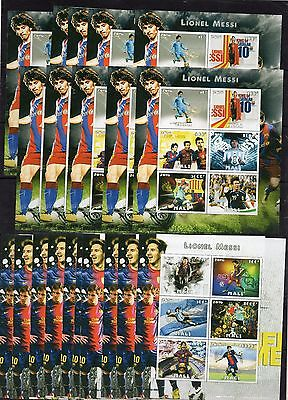 20x Lionel Messi/Football/Sport  - imperf.-private issue -  (AA4)