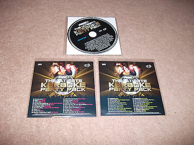 New Zoom Ultimate Karaoke Party Cd+G 3 Disc Set 60 Great Hits Exclusive