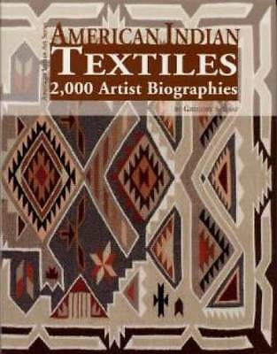 American Indian Textiles book 2000 Artist Biographies