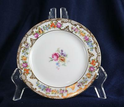 """Royal Bayreuth Dresden Flowers 6"""" Bread & Butter Plate"""