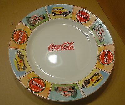 Gibson Coca-Cola ~ Dinner Plate ~ 11 Inches ~ Good Ol' Days