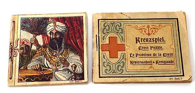 Antique Anchor & Cross Booklets from Richter Stone Puzzles