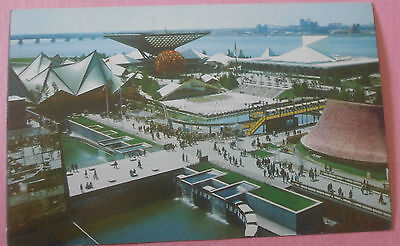 Canada Pavilion Covers 11 Acres Expo 67 Montreal Canada - Unused Postcard #6