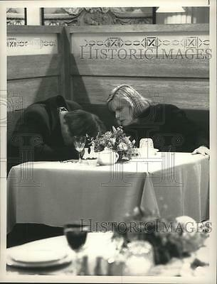1990 Press Photo Stephen Collins and Jane Curtin in Working It Out, on NBC.