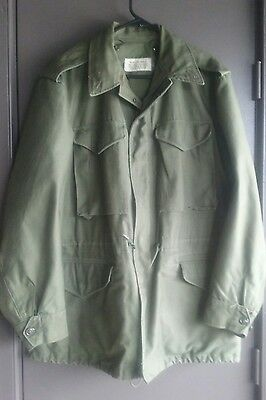 M-1951 Field Jacket In Good Used Condition Dated 60  Small Regular Fits Bigger