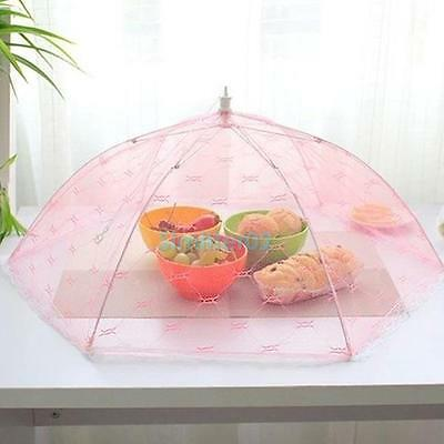 1x Kitchen Food Umbrella Cover Picnic Barbecue BBQ Party Fly Mosquito Mesh Net