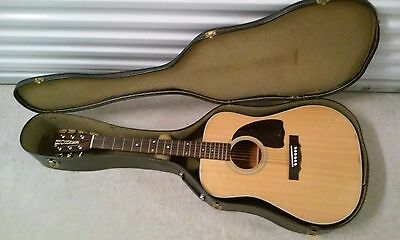 HOHNER HG-11NPU MADE IN JAPAN Acoustic Guitar Vintage Handcrafted