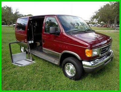 2003 Ford E-Series Van XLT 2003 Ford E-150 XLT Pwr Wheelchair Lift 25K Orig Miles Clean Carfax Best Offer !