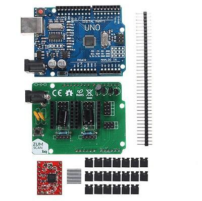 Scan Shield Expansion Board /w A4988 Driver Board Kit for 3D Printer Ciclop