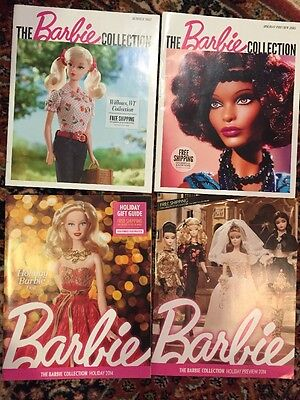 Barbie Collector Catalog Magazine Holiday Collection 2014 2015