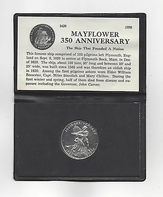 **1620 - 1970** 350th Anniversary of the Mayflower Medallion