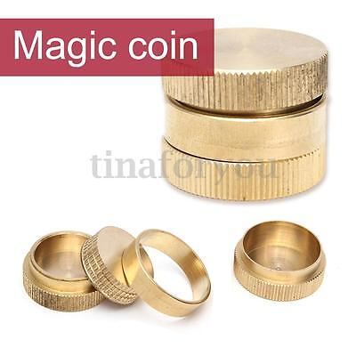Dynamic Coins Magic Trick - 10 Pence Self Working Gimmick Travelling Close Up
