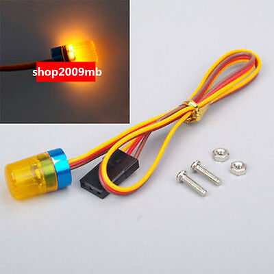 1/10 RC Model Car LED Light Flash Yellow 360 Degree Rotation 13X18 mm AX-510Y