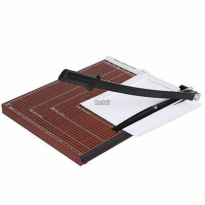 Morgana business card cutter 150000 picclick uk red office home a3 paper cutter trimmer guillotine metal base business card reheart Images