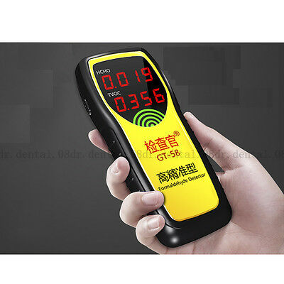 New Air Quality Gas Formaldehyde Test Detector Handheld Digital Portable Monitor