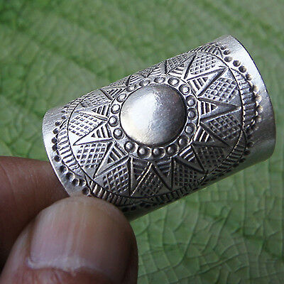 Nice Thai Karen Hill tribe Ring Pure Silver Size.US=9 UK=R.Adjustable