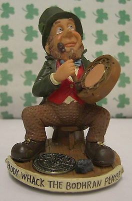 FINNIANS Leprechaun THE BODHRAN  PLAYER blarney stone LUCK OF THE IRISH COIN