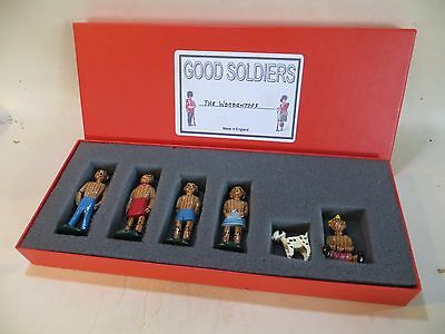 'GOOD SOLDIERS' 'THE WOODENTOPS' METAL FIGURES - BOXED SET. MIB. 1:32/54mm