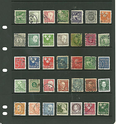 Sweden 3 stock sheets mix collection stamps