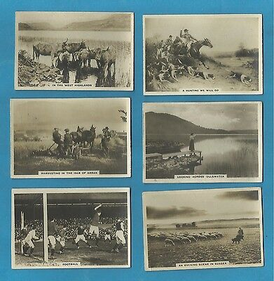 Original Cavanders cigarette cards - HOMELAND SERIES 1924-1926 REAL PHOTOS