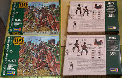 REVELL 1/72 - Napoleonic Wars  French Mounted Guard Chasseurs - 1 BOX 2576 LOOSE