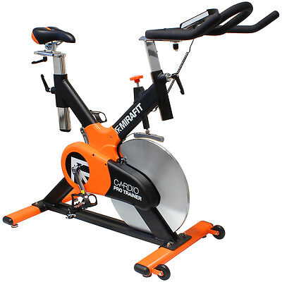 MIRAFIT Top of the Range Exercise Bike Aerobic Gym Studio Class Training Bicycle
