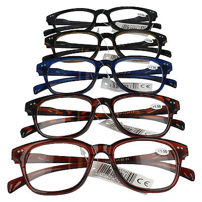 Lesser & Pavey Reading Glasses In 5 Colours & 3 Strengths Style - Lp29379