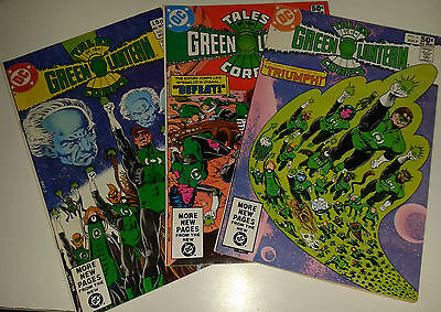Tales of the Green Lantern Corps  #1 2 3 DC comics