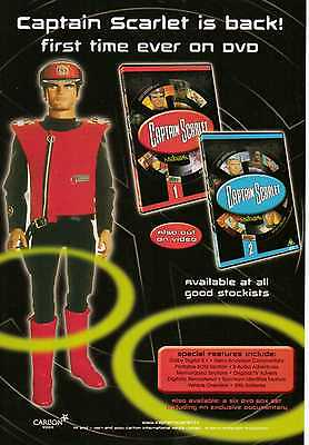 A4 Original Advert for the DVD Release of Captain Scarlet
