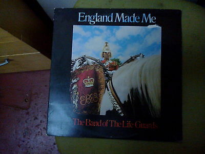 The Band Of The Life Guards - England Made Me - Vinyl Lp