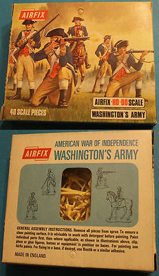 Airfix - Washington's Army - American Independence War - BLUE-BOX S39-69 VINTAGE