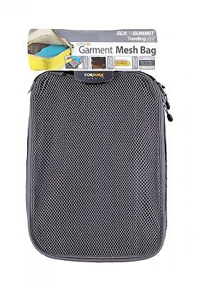 Sea To Summit TravellingLight Garment Mesh Bag Small Kleidersack Schwarz Reisen