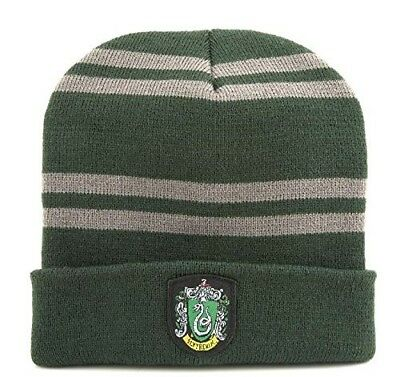HARRY Potter CAPPELLO SERPEVERDE ORIGINALE Berretto Beanie SLYTHERING HAT Nuovo