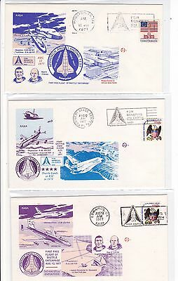 Enterprise 19 Covers 747 FREE Manned Flights Aug-Oct 1977 Space Shuttle ALT !!
