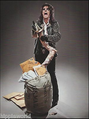 Alice Cooper with snake 8 x 11 pinup photo ready to frame print