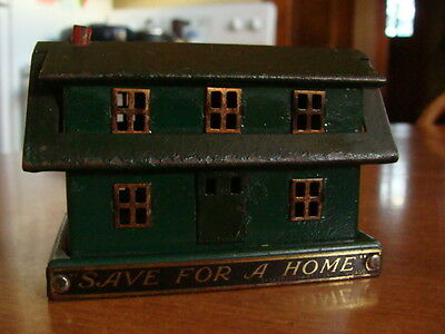 "Vtg Advertising Real Home Bank ""save For A Home""  East Side Bank Milwaukee Wisc"