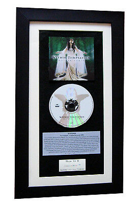 WITHIN TEMPTATION Mother CLASSIC CD TOP QUALITY FRAMED+EXPRESS GLOBAL SHIPPING!!