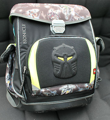 Lego Bionicle Air Light School Hardcase Rucksack Backpack Collectable RARE 2009