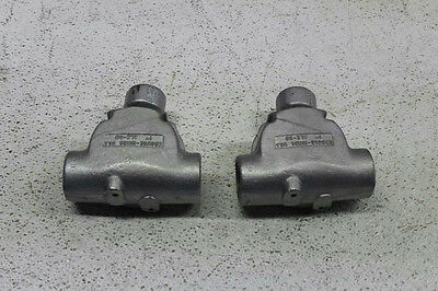 Lot of 2 Crouse Hinds ALC32 1in. Ball Type Flex Fixture Hanger