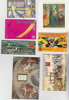 VATICAN 1985/2009 / 13 MINT BOOKLETS complete with stamps B1104 B3