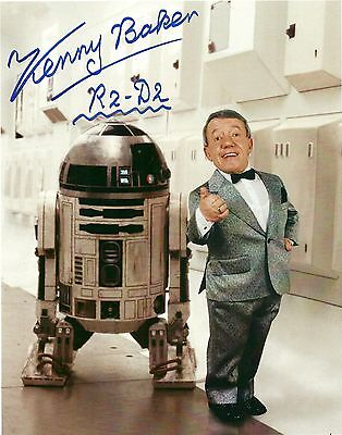 Star Wars Actor R2 D2 Kenny Baker Autographed Photo PRINT 5x7