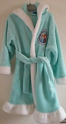 Disney Frozen Girls Dressing Gown age 5-6 years from Sainsburys