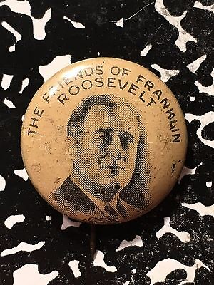Friends of Franklin Roosevelt Pin Lot#1151