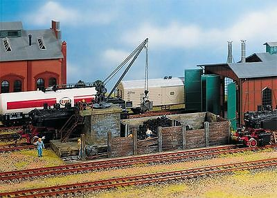 Faller Ho Scale 1:87 Station Coaling Small Building Kit | Bn | 120131